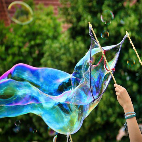 Diy Riesenseifenblasen Selber Herstellen