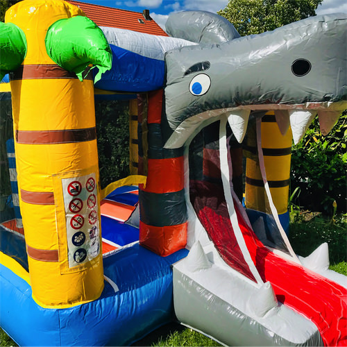 Hüpfburg Hai Kinderevents Sehnde 1