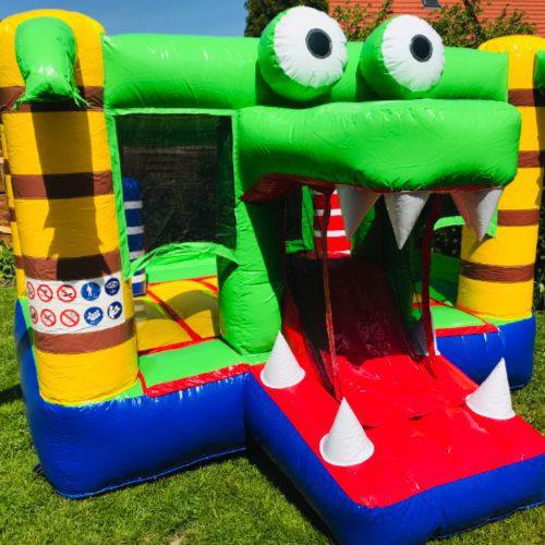 Hüpfburg Krokodil Kinderevents Sehnde 1