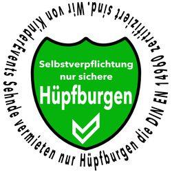 Selberverpflichtung Sicherer Huepfburg Verleiher