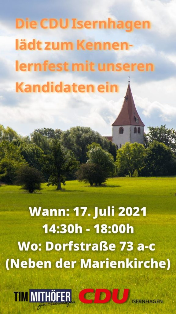 CDU Isernhagen Kennenlernfest 2021