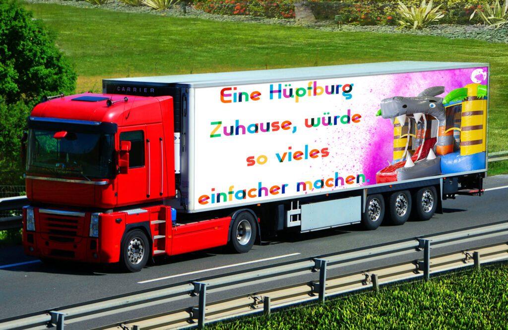 huepfburg lieferung neu kinderevents sehnde